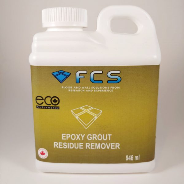 Epoxy Grout residue