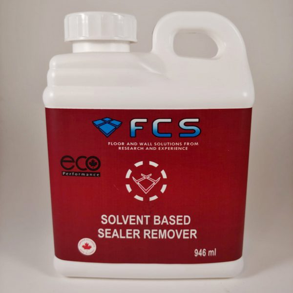 Solvent Based Sealer Remover