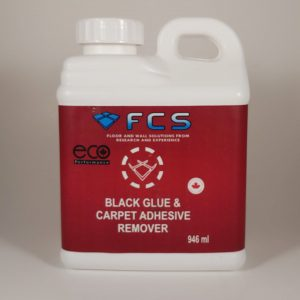 black glue and carpet adhesive remover