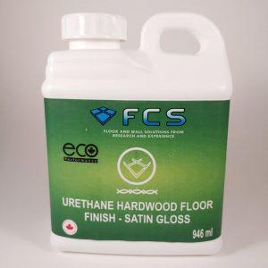 Urethane hardwood floor Finish